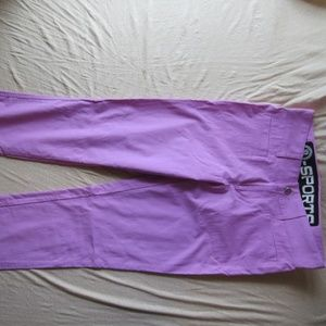 Womens Bogner B-Sports Pants Size 4 Purple